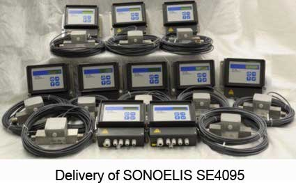 Delivery of SONOELIS SE4095